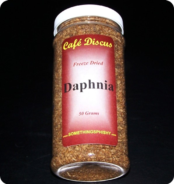 Freeze Dried Daphania   50 grams/16 fl. oz. ctr.