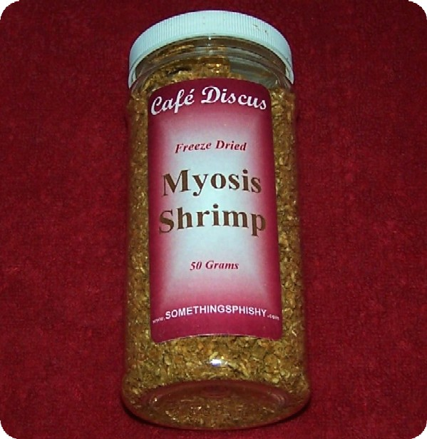 Freeze Dried Myosis Shrimp   50 grams/16 fl. oz. ctr.